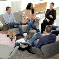 Still from KPMG Roundtable video